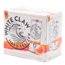 White Claw Ruby Grapefruit Hard Seltzer 6pk 12oz Can