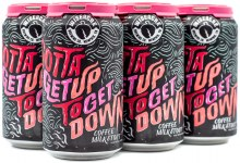 Wiseacre Gotta Get Up To Get Down Coffee Milk Stout 6pk 12oz Can