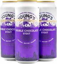 Youngs Double Chocolate Stout 4pk 14.9oz Can