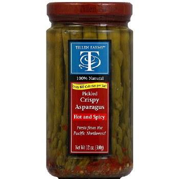 Tillen Farms - Spicy Pickled Asparagus 12oz