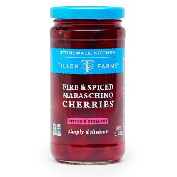 Tillen Farms Fire and Spiced Maraschino Cherries 13.5oz