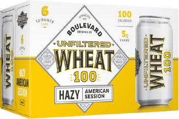 Boulevard Unfiltered Wheat 100 6pk 12oz can