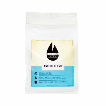Blue Sail Anchor Blend Coffee Beans 12oz Bag