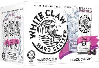 White Claw Black Cherry Hard Selzter 12pk 12oz Can