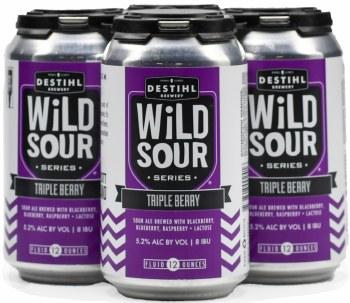 Destihl Wild Sour Series Triple Berry 4pk 12oz Can