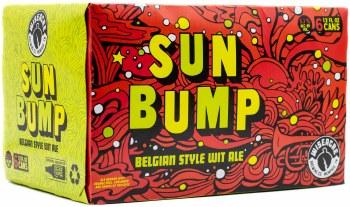 Wiseacre Sun Bump Belgian Style Wit Ale 6pk 12oz Can