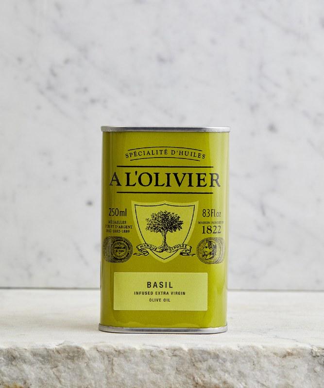 A L'Olivier Basil Infused Olive Oil, 250ml