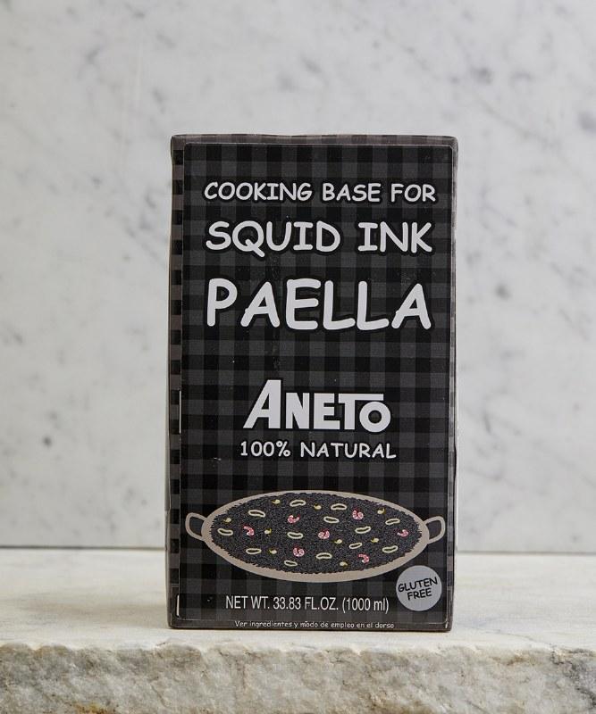 Aneto Squid Ink Paella Base, 1L