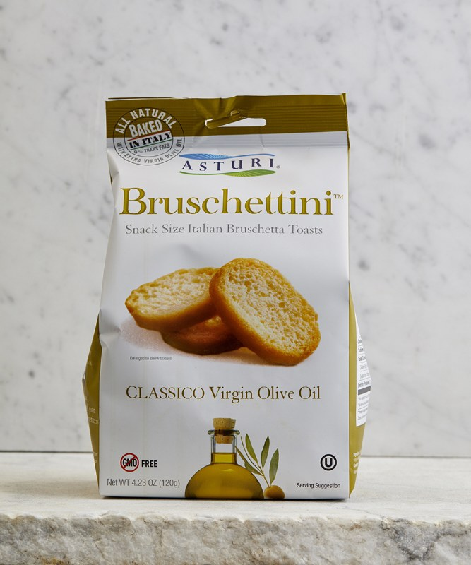 Asturi Classic Olive Oil Bruschettini, 120g