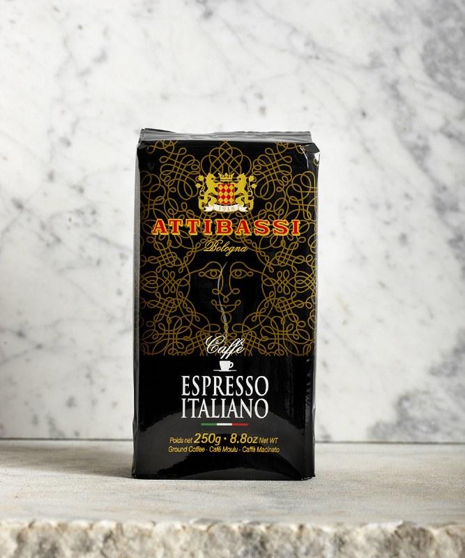 Attibassi Espresso Italiano Coffee, 250g