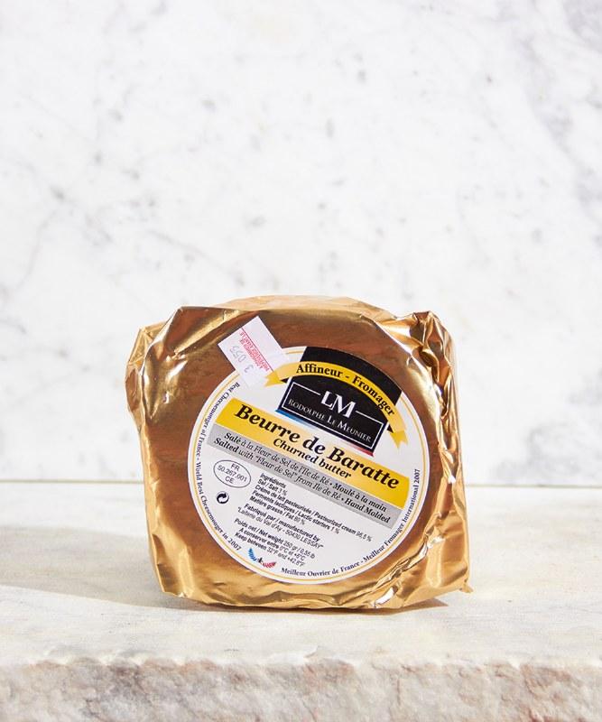 Beurre de Baratte Fleur de Sel, 250g