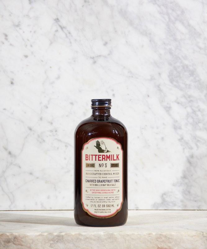 Bittermilk Charred Grapefruit Tonic, 502ml