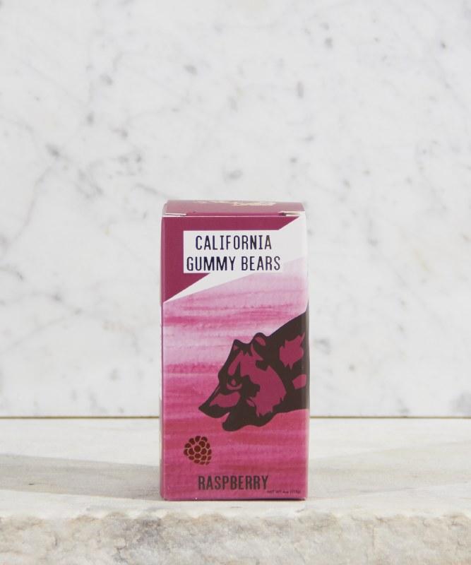 California Gummy Bears Raspberry, 4oz