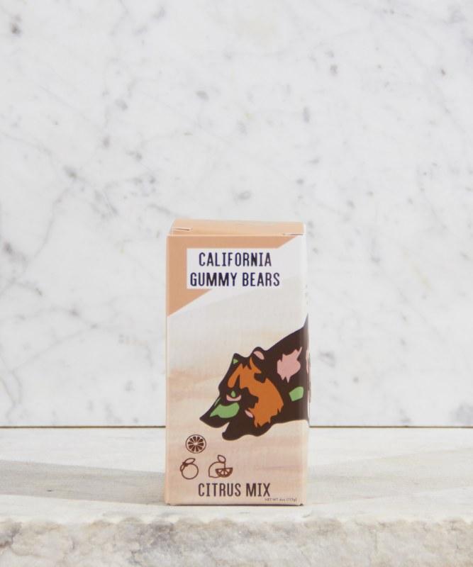 California Gummy Bears Citrus, 4oz