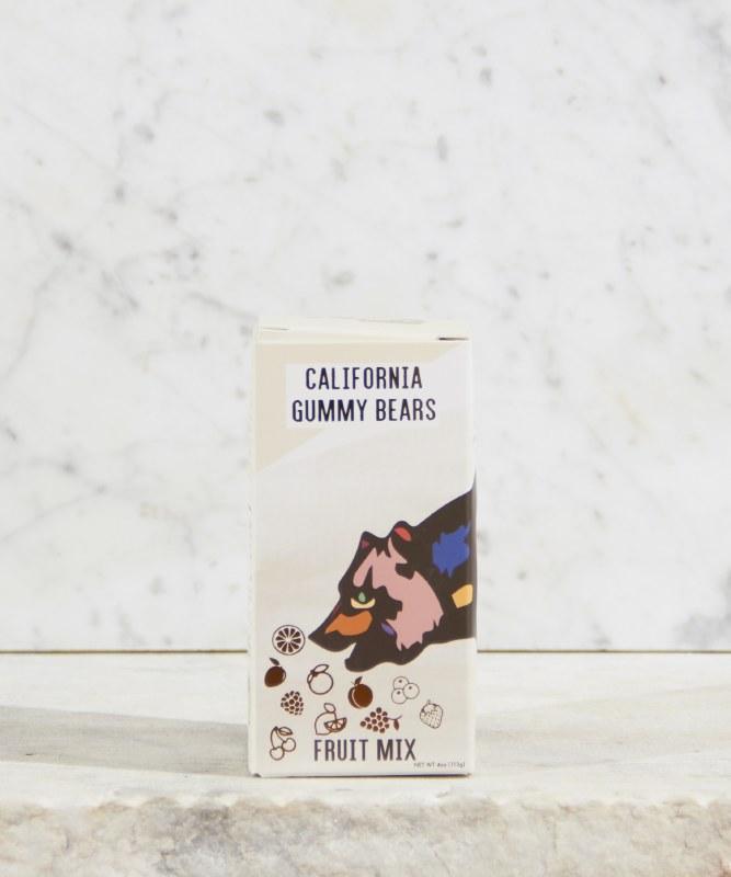 California Gummy Bears Fruit Mix, 4oz