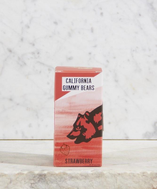 California Gummy Bears Strawberry, 4oz