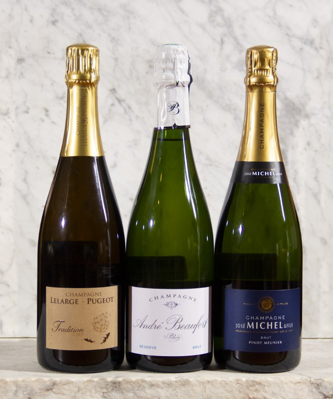 Champagne Blanc - $30-$40