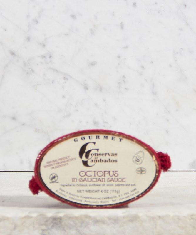 Conservas de Cambedos Octopus in Galacian Sauce, 111g