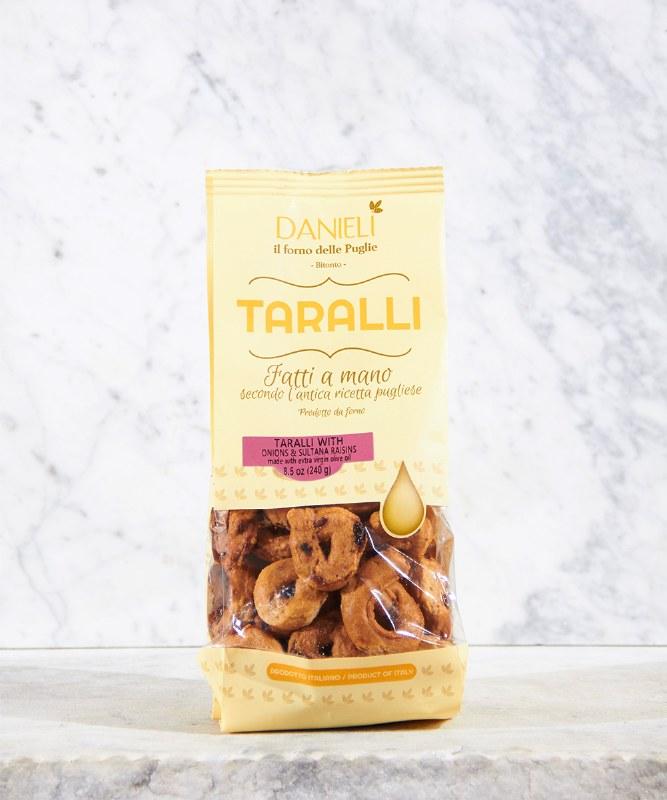 Danieli Taralli with Raisin & Onion, 240g