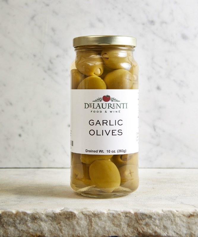 DeLaurenti Garlic Stuffed Olives, 10oz