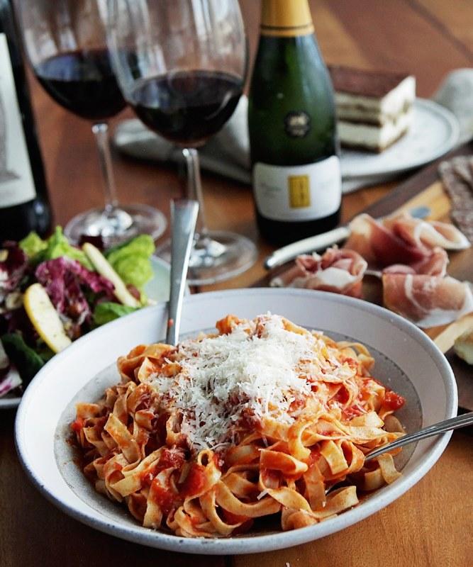 Dinner for 2 - Red/Dry Pasta
