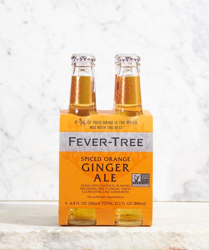 Fever Tree Spiced Orange Ginger Ale, 4/200ml