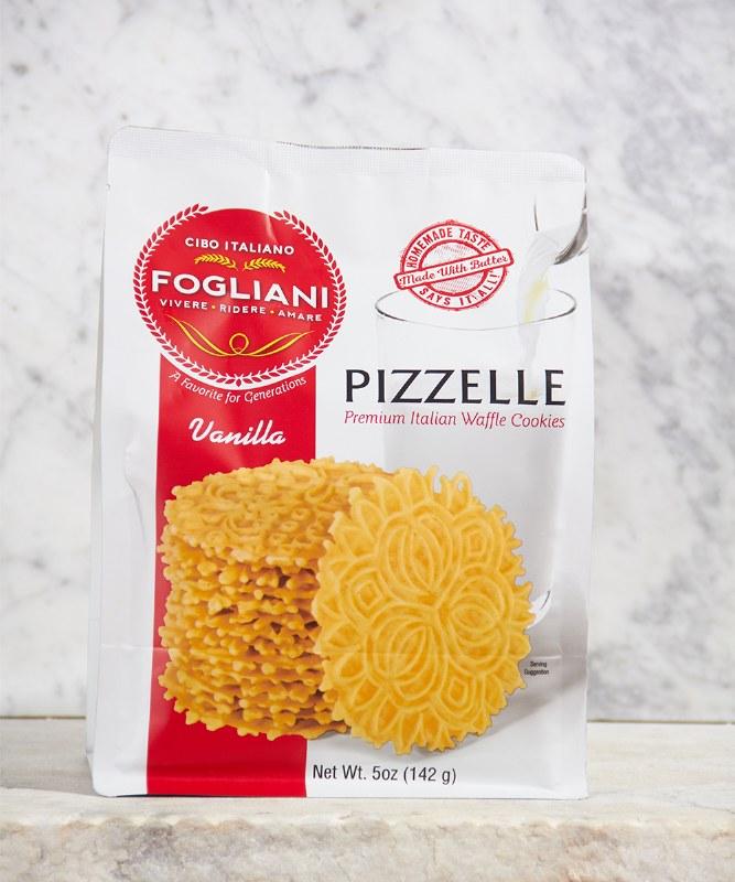 Fogliani Vanilla Pizzelle, 5oz