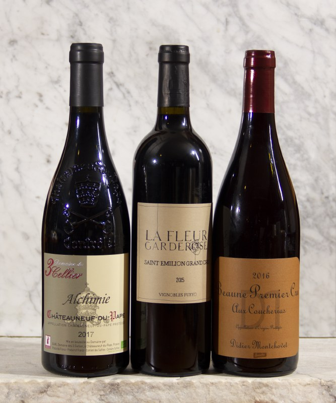 France - Red Wine - Stronger, More Full-Bodied and Tannic - $20-$30