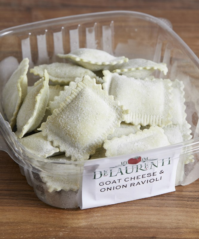 DeLaurenti Goat Cheese & Onion Ravioli, 8oz