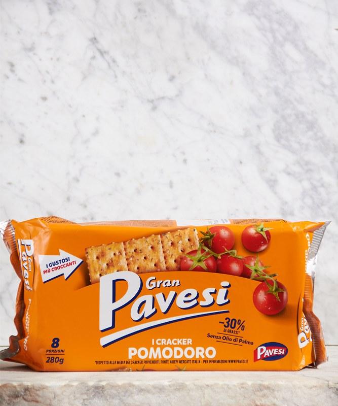 Gran Pavesi Tomato Crackers, 250g