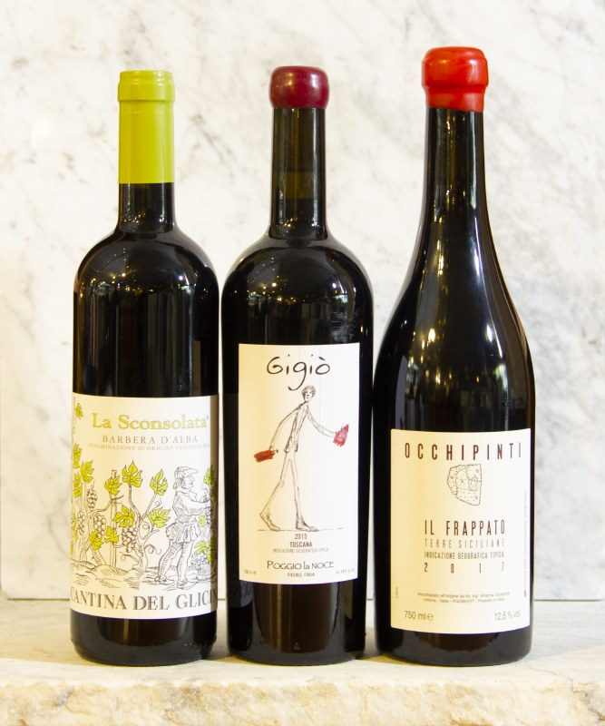 Italy - Red Wine - Stronger Tannins, More Earthy Profile - Under $20