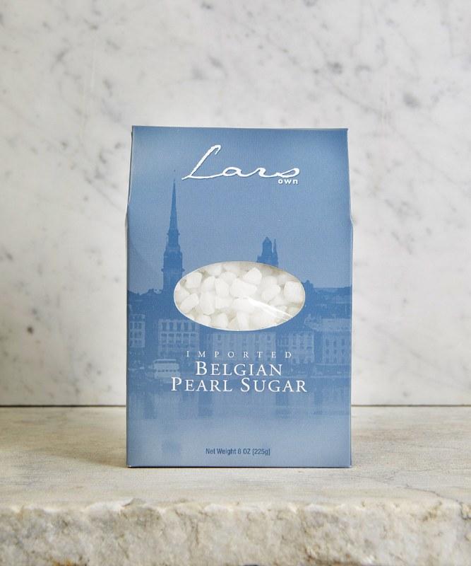 Lars Own Belgian Pearl Sugar, 225g