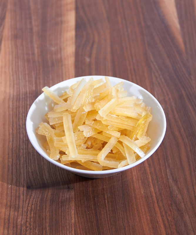 DeLaurenti Candied French Lemon Strips, 4oz