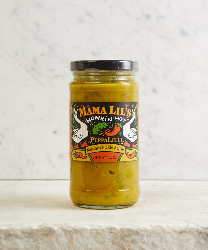 Mama Lil's PeppaLilli Mustard Pickle Relish, 12oz