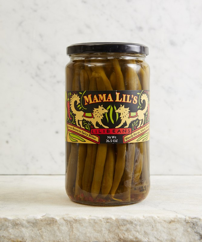 Mama Lil's Pickled Green Beans, 28oz