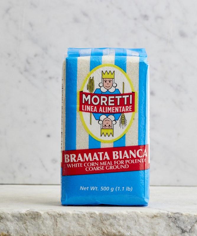 Moretti Bramata Bianca Polenta, 500g