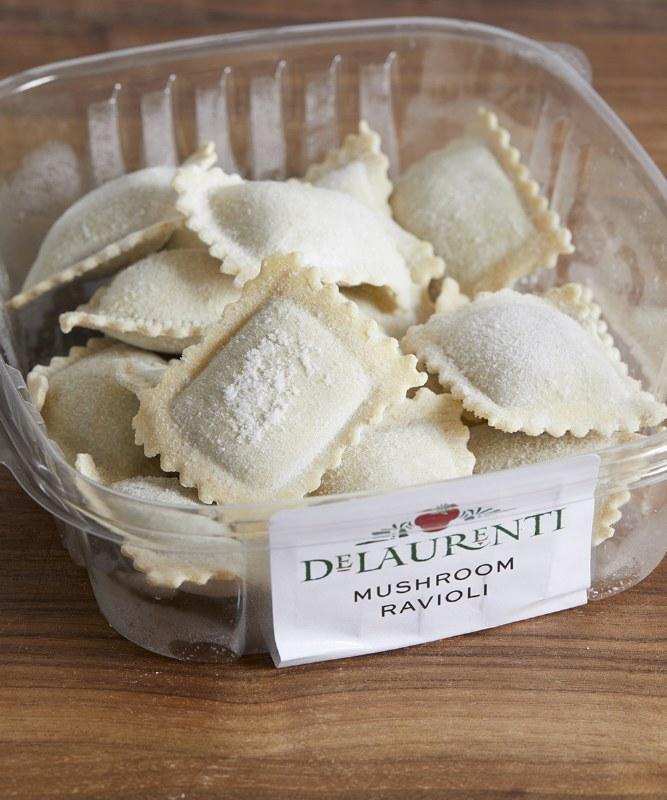 DeLaurenti Mushroom Ravioli, 8oz