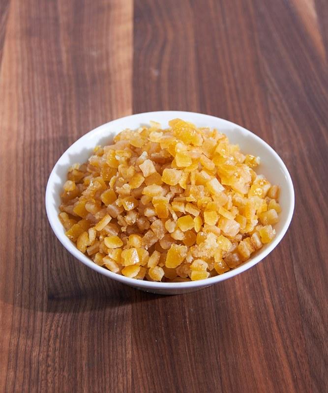 DeLaurenti Diced Orange Peel, 16oz