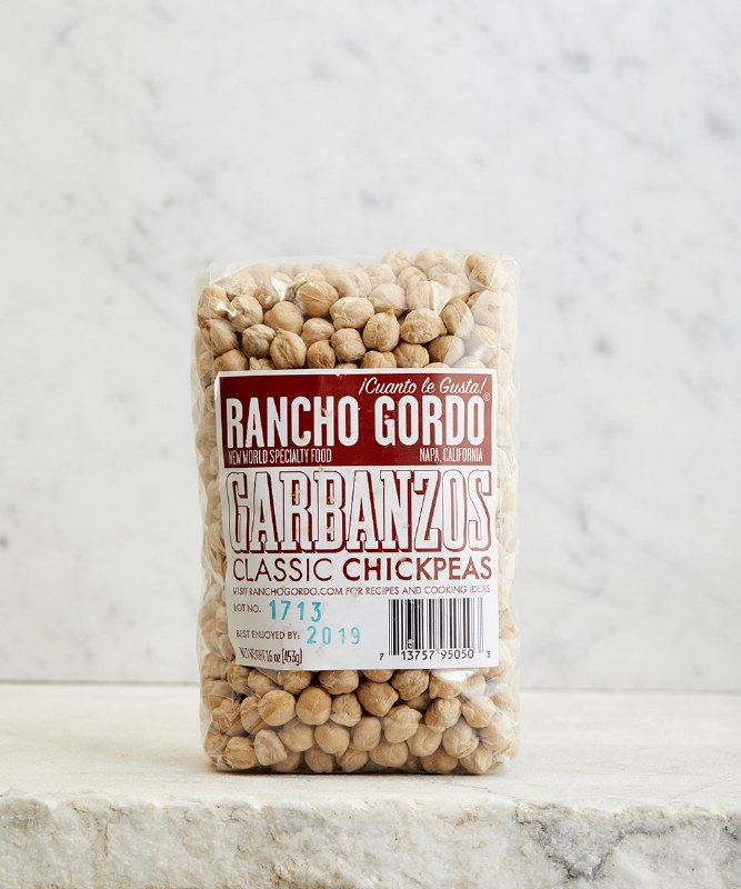 Rancho Gordo Garbanzo Beans, 16oz