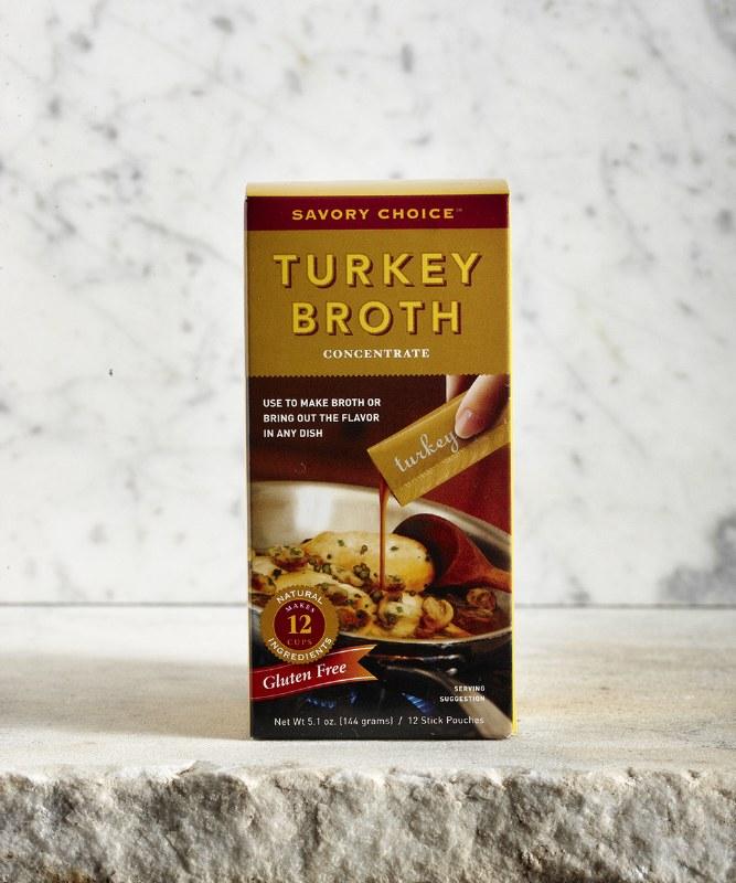 Savory Choice Turkey Broth, 5.1oz