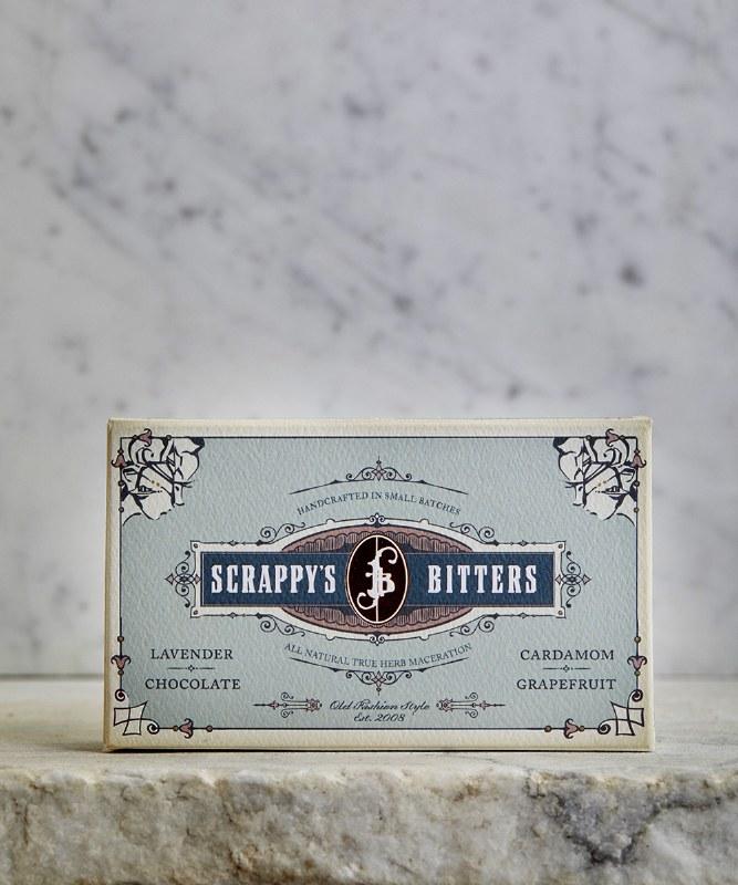 Scrappy's Exotic Bitters Mini Set, 4pc- 2oz