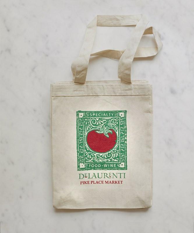 DeLaurenti Canvas Tote Bag