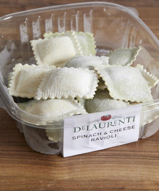 DeLaurenti Spinach & Cheese Ravioli, 8oz