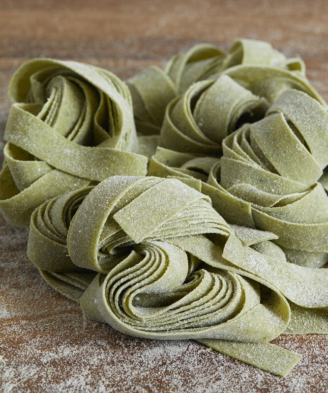 DeLaurenti Fresh Spinach Pappardelle