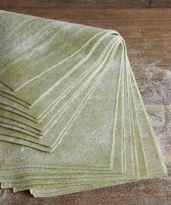 DeLaurenti Fresh Spinach Pasta Sheets