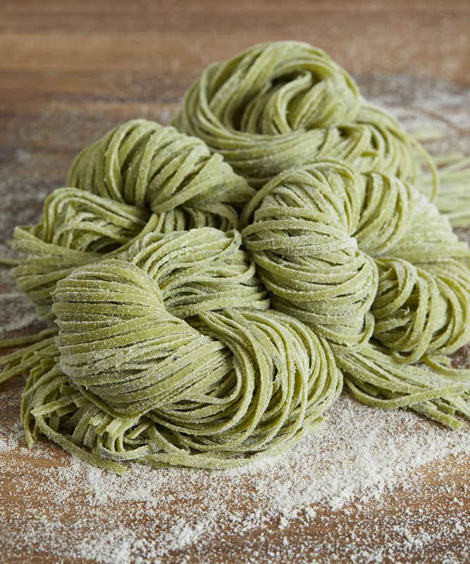 DeLaurenti Fresh Spinach Spaghetti