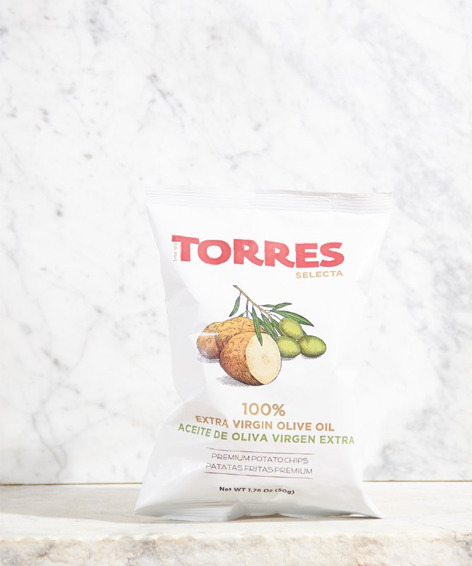 Torres Extra Virgin Olive Oil Chips, 50g