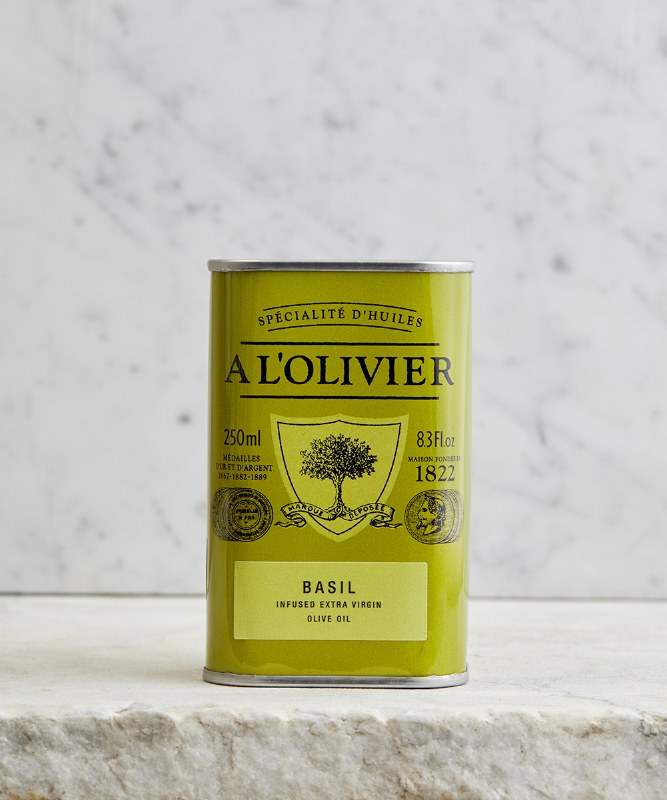 A L'Olivier Basil Infused Olive Oil, 250ml