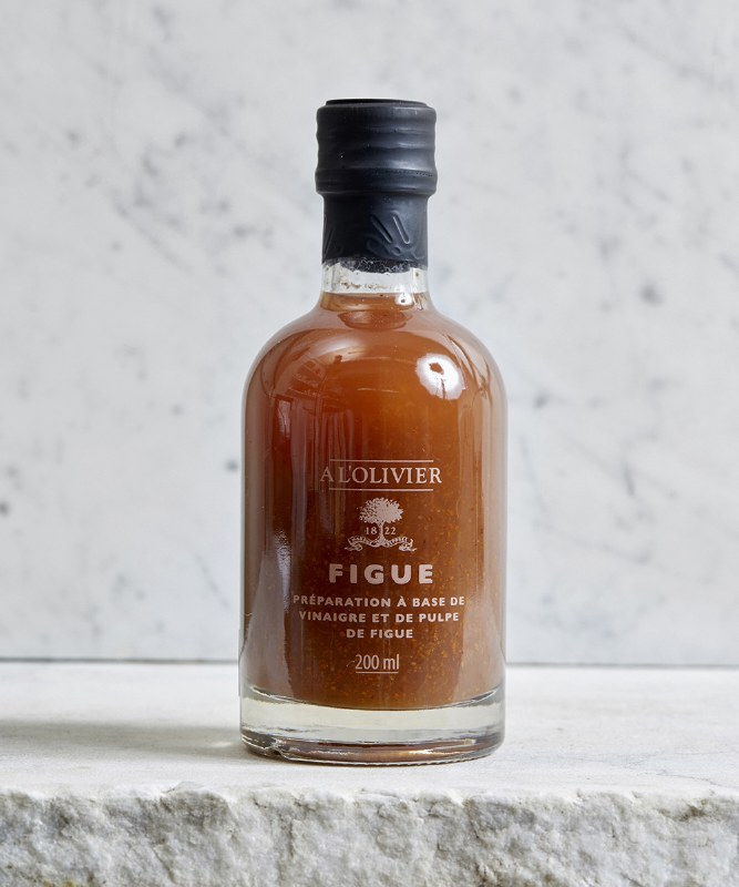 A L'Olivier Fig Infused Vinegar, 200ml