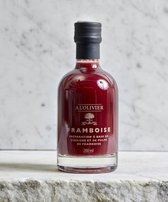 A L'Olivier Raspberry Infused Vinegar, 200ml